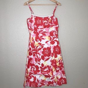 New York Company Flower Print Dress Size 6